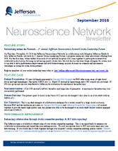 Neuroscience Network Newsletter September