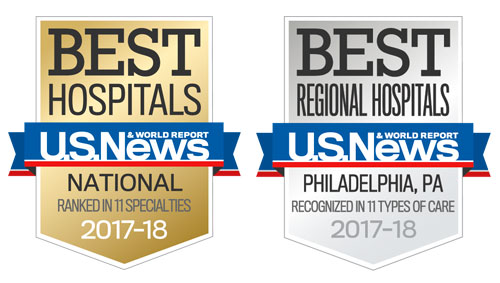 US News Best Hospitals Badges