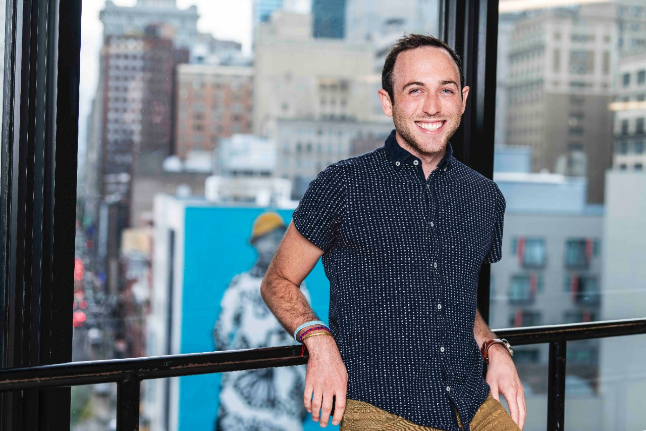 Working at JeffHOPE has inspired Samuel Fels to validate and lift up LGBTQIA+ kids and teens.