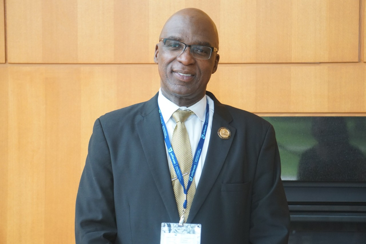 Headshot of keynote speaker Dr. Michael Blue