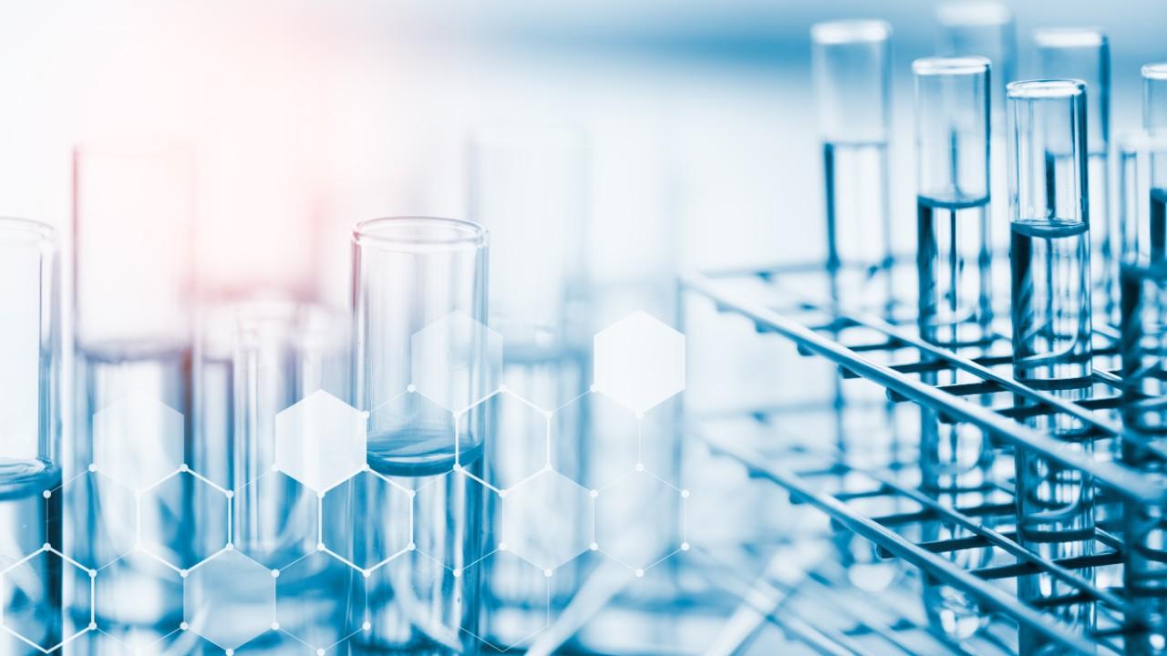 photo of laboratory test tubes
