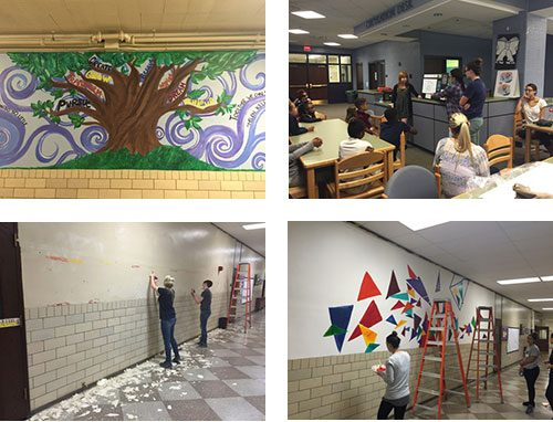 Design and Installation of Mural for Young Students