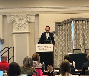 Marcus Institute CEO, Dr. Daniel Monti, welcomed attendees at the Advances in Integrative Nutrition CME Course.