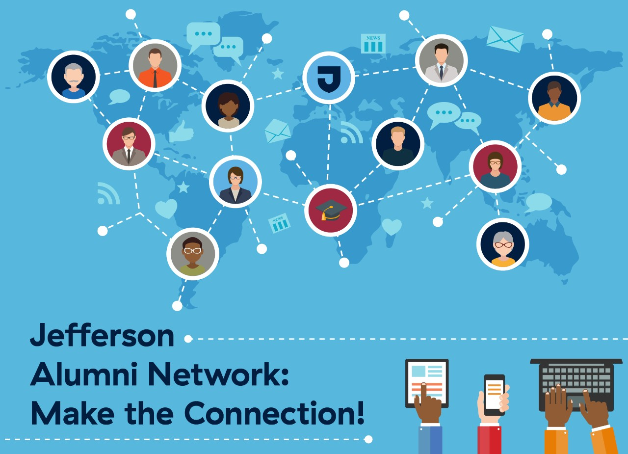 Jefferson Alumni Network graphic