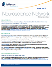 Neuroscience Network Newsletter June 2016