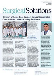 Surgical Solutions Spring 2016