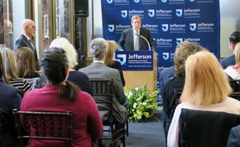 Thomas Jefferson University Launches Nation's First Academic Department of Integrative Medicine